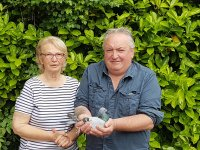 1st Sec D-Mr C Stevens & Sue White, Sidmouth